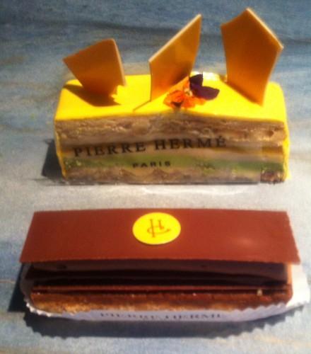 hermé, chocolat, saint sulpice, plaisir sucré, dacquoise noisette, chocolat, Paris