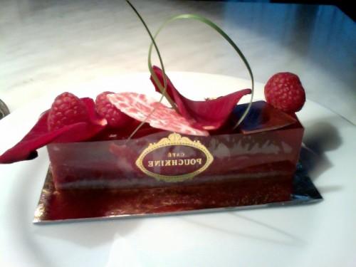 desserts, café Pouchkine, feijo, roulé au pavot, truffe, boulevard haussamann, paris