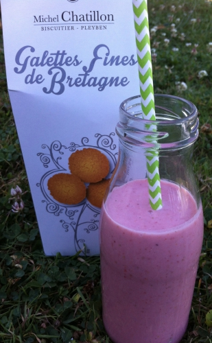 smoothie, fraise, thermomix, tm 31, yaourt, fromage blanc