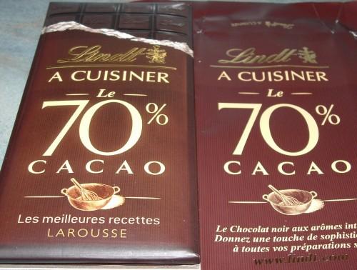 Brownies, Lindt à cuisiner, 70%, chocolat, Larousse