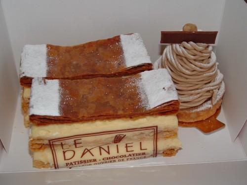 mont blanc, millefeuilles, Laurent Le Daniel, MOF