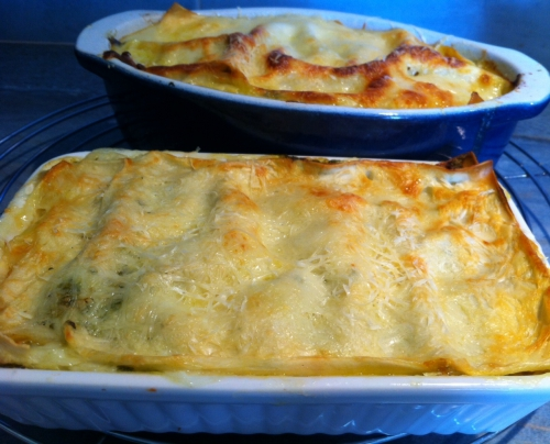 lasagnes, pesto, jambon cru, béchamel, pesto, basilic, parmesan, courgette