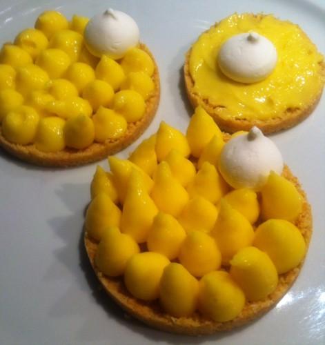 tartelettes, citron, Christophe Michalak, sablés