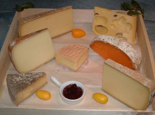 plateau de fromages, fromagerie fine, Sébastien et Guylaine Balé
