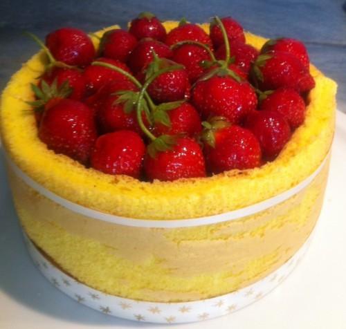 dessert, charlotte, fraise, mercotte, solution desserts