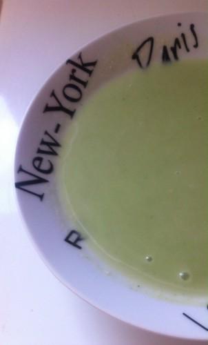 braesola, soupe, brocolis, crème fleurette
