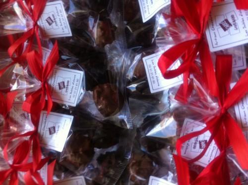 carré gourmand, rocher, chocolat, sables d'olonne, vendée, atlantes