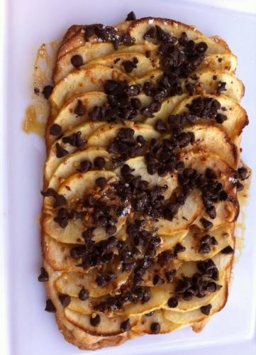 sébastien bouillet,tarte,chocolat,banane,billes croustillantes,pralin