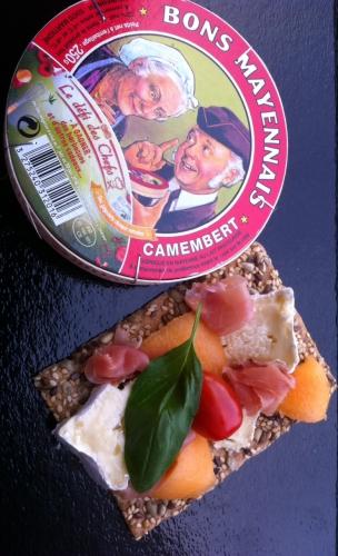 défi chef, fromage, Bons Mayennais, Vaubernier, toast