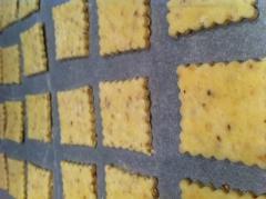 crackers, apéritif, cracker, parmesan, sésame, graines