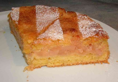 gâteau aux coings, coings