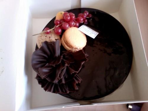 entremets, trois chocolats, délit de gourmandise, paris 14