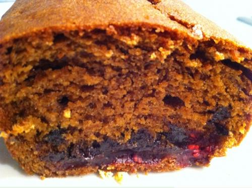 marlette, cake, framboise, chocolat, pépites, rapadura
