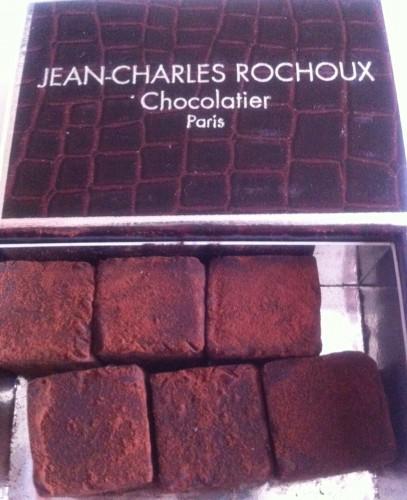 jean charles rochoux, rue d'assas, truffes, chocolat, paris
