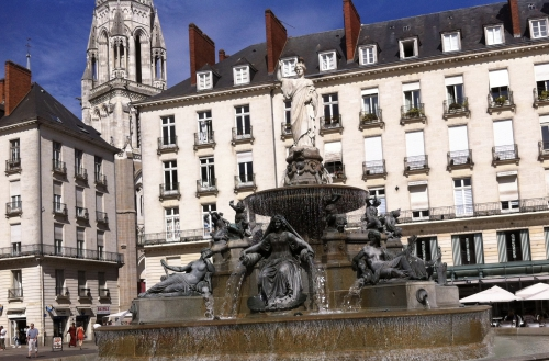 Nantes, vincent Guerlais, pommeraye, jacques demy, georges gautier, mascaron, fred, merveilleux, rigolotes, mascaron