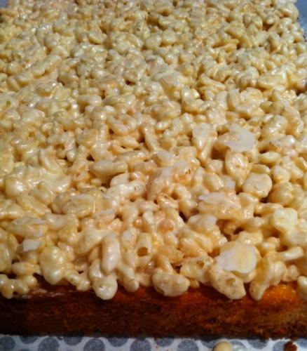 riz soufflé, croustillant, chocolat ivoire valrhona, financier, barre de céréales