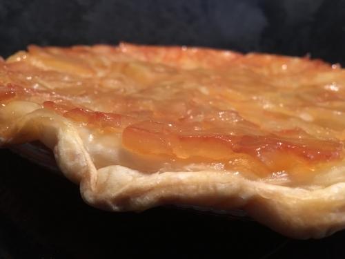 tarte, tarte tatin, pommes, huile d'olive