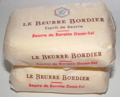 beurre, Bordier, demi-sel