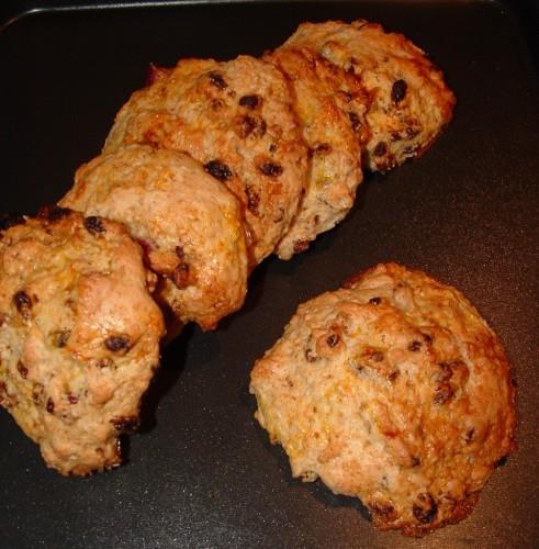scones,baies de goji,noisettes,la pâtisserie maison,marlette,lait ribot