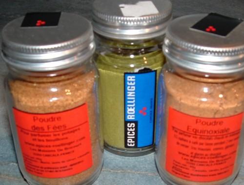 épices, Roellinger, poudre équinoxiale,