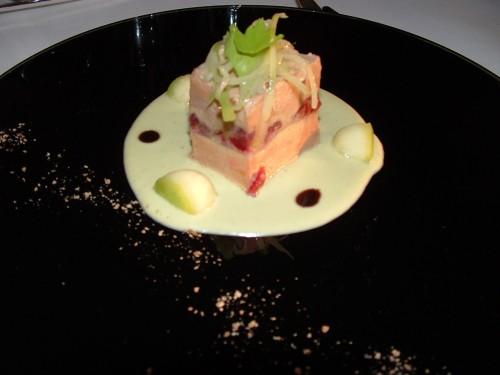 restaurant gastronomique les Tourelles, Château d'Apigné, Le Rheu, Philippe Peudenier