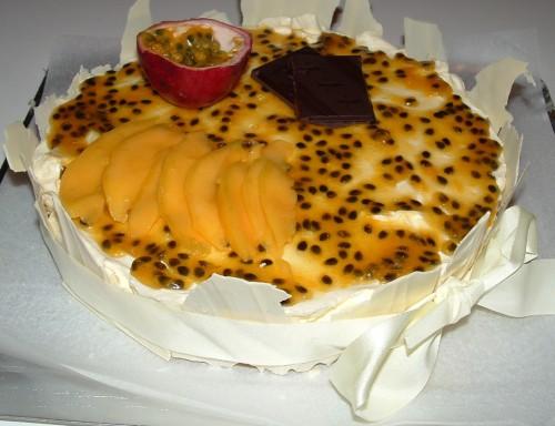 entremets,fruits exotiques,mangue,compote de mangues,mousse fruits exotiques,croustillant sablé,miroir fruits exotiques