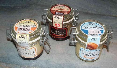crème, bocaux, fromagerie fine balé, rennes