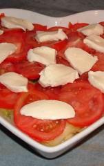 gratin, courgettes, tagliatelles de courgettes, tomates, mozzarella
