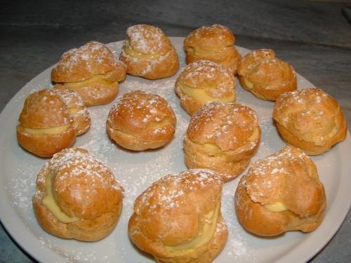 chouquettes, sucre grains, chou, crème pâtissière vanille, le daniel, philippe conticini