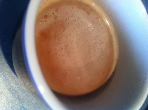 chocolat chaud, jivara, valrhona