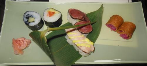 restaurant éphémère, auberge des templiers, sologne, boismorand, depée, yoshihiki miura, sushis, betterave, saumon, teppanyaki, mochi, taittinger, esthederm
