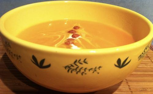 soupe, velouté, potage, thermomix, butternut, noisette
